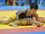 東海ジュニアレスリングクラブ:水谷選手 vs 横須賀ジュニアレスリングクラブ:武末選手