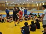 藤川コーチによるワンポイントレッスン