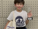 松本 万(5年生)
