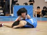 小学生女子46㎏級で優勝した小柴ゆり(TOSU)